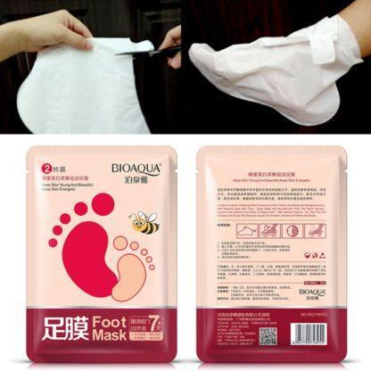 Смягчающая маска-носки для ног - фото 2