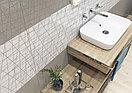 Кафель | Плитка настенная 25х75 Вегас | Vegas белый вставка, фото 6