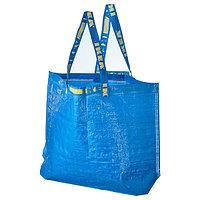 Сумка ФРАКТА средняя, синий 36 л IKEA, ИКЕА