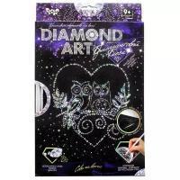 "Набор креативного творчества ""DIAMOND ART Совы на ветке"""