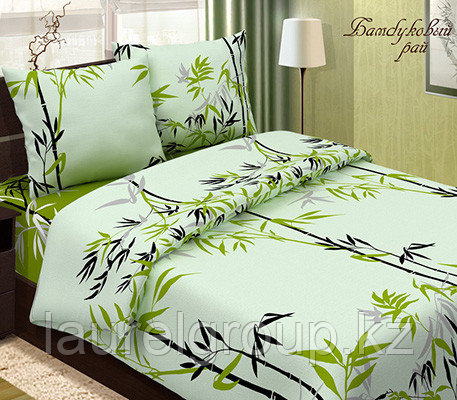 """Постельное бельё """"Бамбуковый рай"""""""