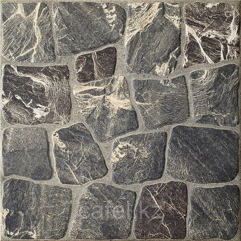 Керамогранит 33х33 - Вилио | Vilio темно-серый