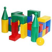 Набор кубиков Стена-смайл 32 элемента