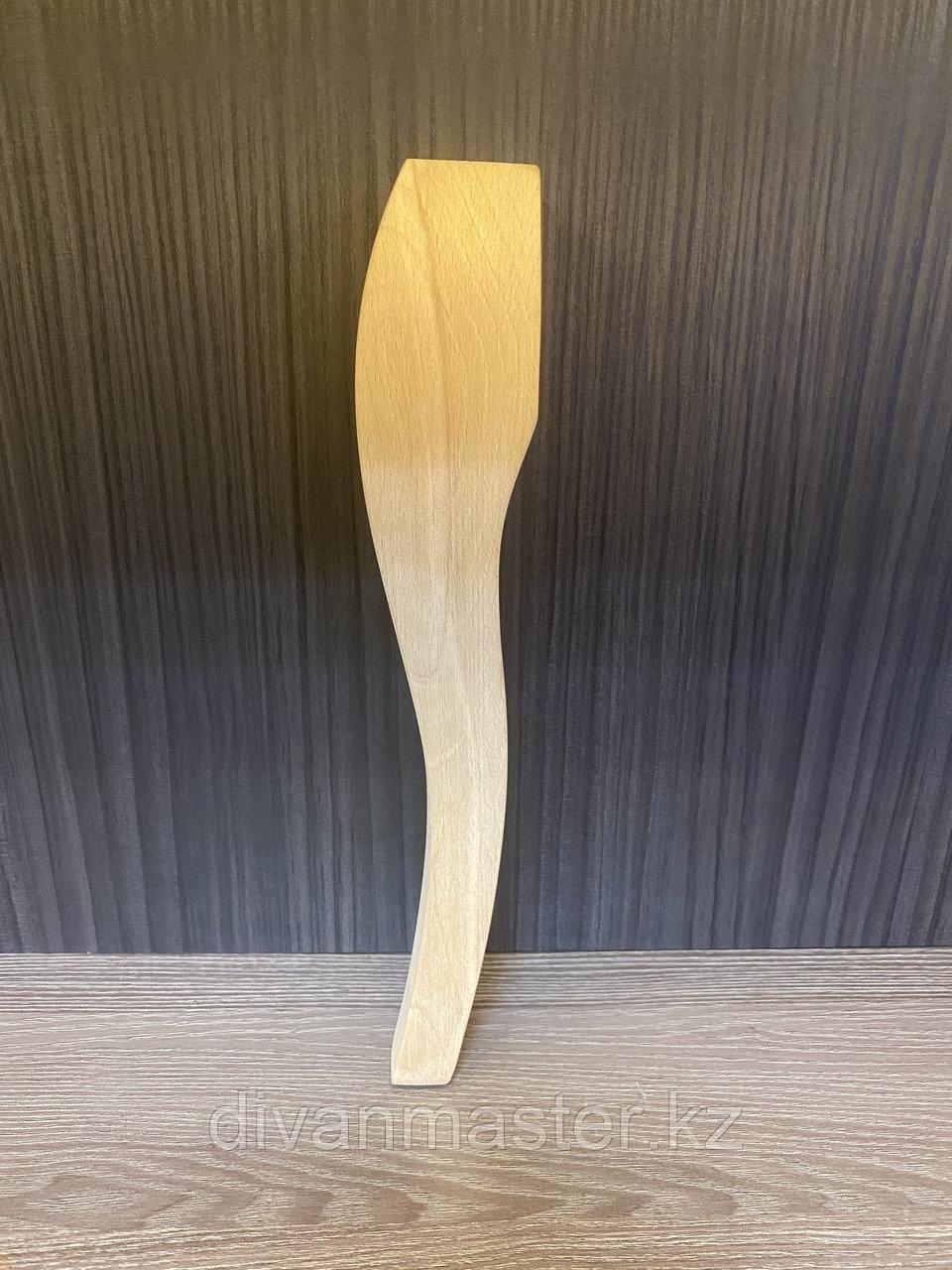 Ножка кабриоль, бук 30 cm