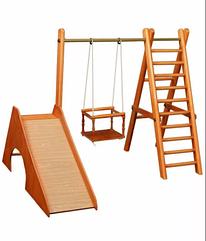 ДСК Карусель деревянный