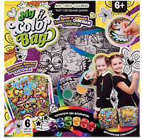 "Набор креативного творчества ""My Color BagPack сумка-раскраска мини Совы за столом"""
