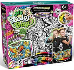 """Набор креативного творчества """"My Color BagPack сумка-раскраска мини Феи"""""""