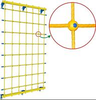 Веревочная сетка настенная ширина 75 см
