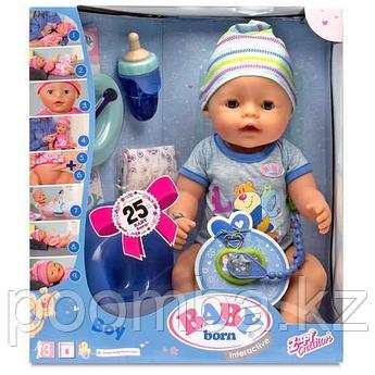 Кукла-мальчик Baby born Беби Бон 43 см