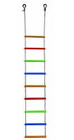 Лестница веревочная 2,4 м пластик ЛЕКО