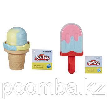 Play Doh Набор пластилина - Мороженое Плей До