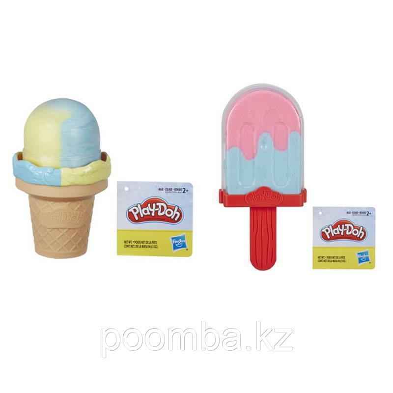 Play Doh Набор пластилина - Мороженое Плей До - фото 1