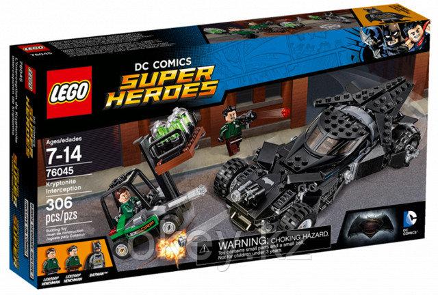 LEGO Super Heroes: Перехват криптонита 76045