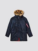 Alpha Industries Куртка-парка Alpha Industries SLIM FIT N-3B, натуральный мех