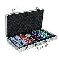 Покер в металлическом кейсе на 300 фишек