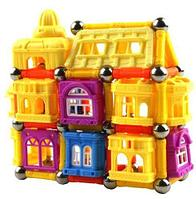 Конструктор волшебных замков «Магнитные Кубики» JC Toy (148 деталей)