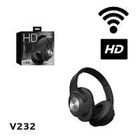 Bluetooth-наушники беспроводные HD Wireless V232 (Черный), фото 1