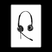 Voice Technologist VT6200-D QD(P)-RJ9(03) Гарнитура проводная Дуо, HD звук, QD, переходник QD-RJ09(03)