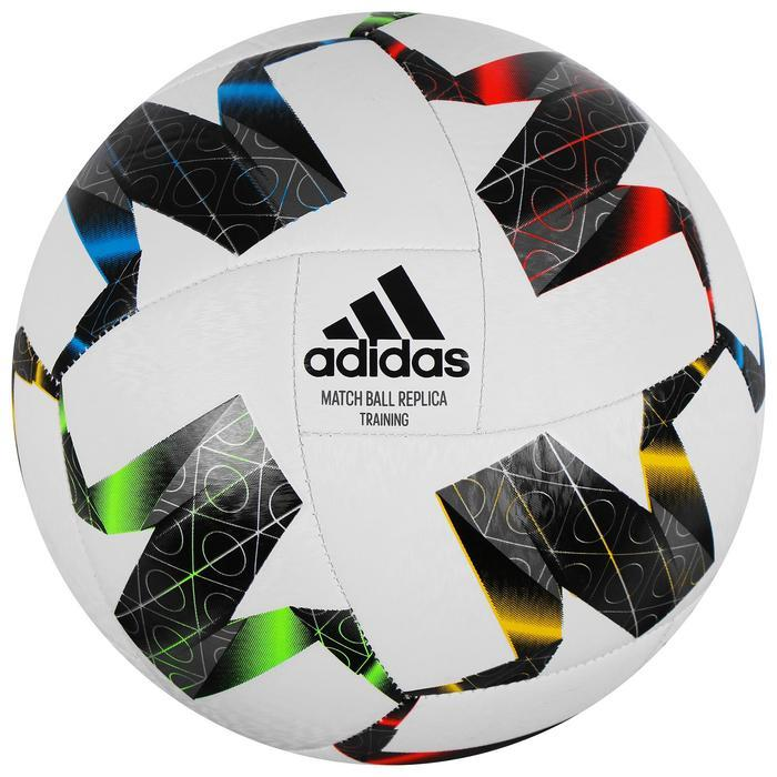"Мяч футб. ""ADIDAS UEFA NL TRN"" арт. FS0204, р.4, 18 пан., ТПУ, маш.сш., бело-черно-мультикол"