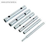 "Ключи трубчатые ""КУРС"", 8-17 мм, набор 6 шт."