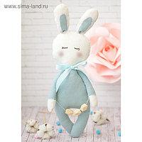 Мягкая игрушка «Зайка мальчик», набор для шитья, 18 × 22 × 3.6 см