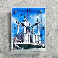 """Часы настенные, серия: Город, """"Мечеть Кул Шариф"""", 20х25 см, микс"""