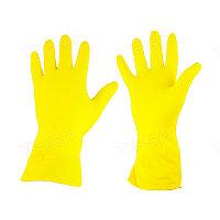 Перчатки с латексным покрытием трикотажные