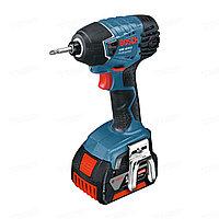 Гайковерт аккумуляторный ударный Bosch GDR 18 V-LI 4,0 AH  L-Boxx 06019A130E