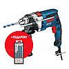 Дрель ударная GSB 16 RE + набор сверл Bosch 0615990L2N