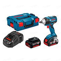 Гайковерт аккумуляторный Bosch GDS 250-LI + ящик для инструментов 0615990L2C