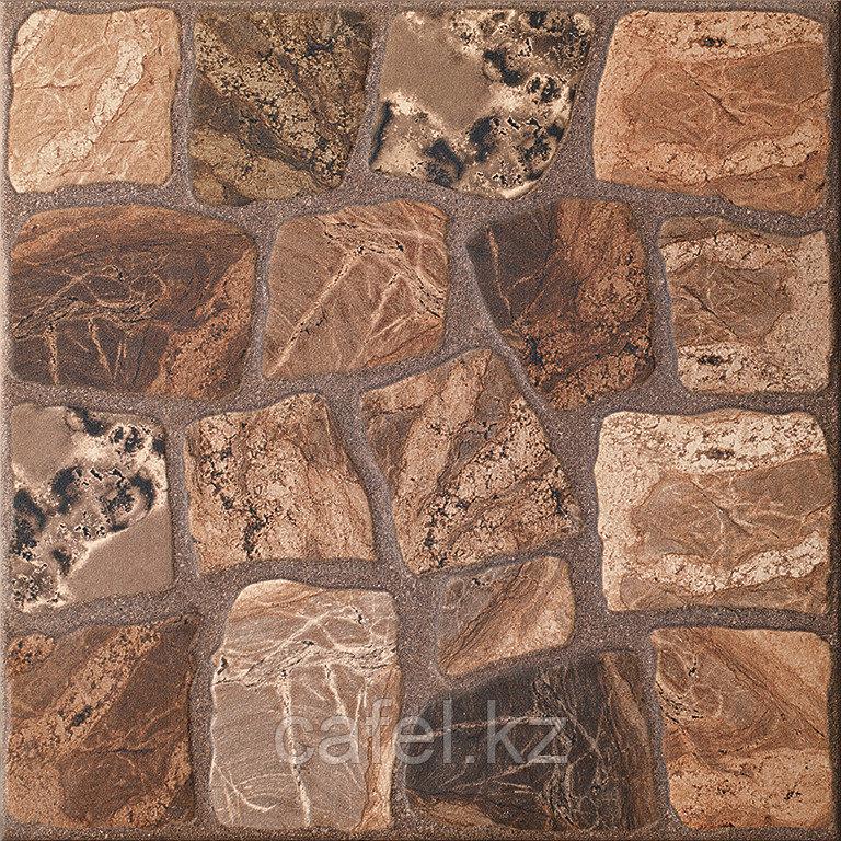 Керамогранит 33х33 - Вилио | Vilio коричневый