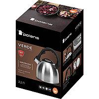 Чайник со свистком Polaris Verde-2.2L, фото 7