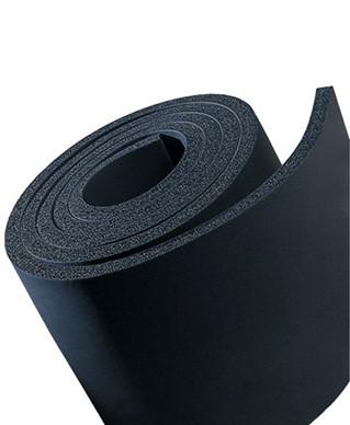 Каучуковая изоляци 6 мм, самоклеющаяся рулонная для воздуховодов