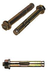 Металлический анкерный болт с рубашкой под гайку (16х180)