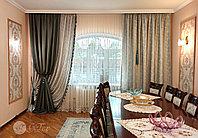 Декоративные комбинированные шторы, фото 1