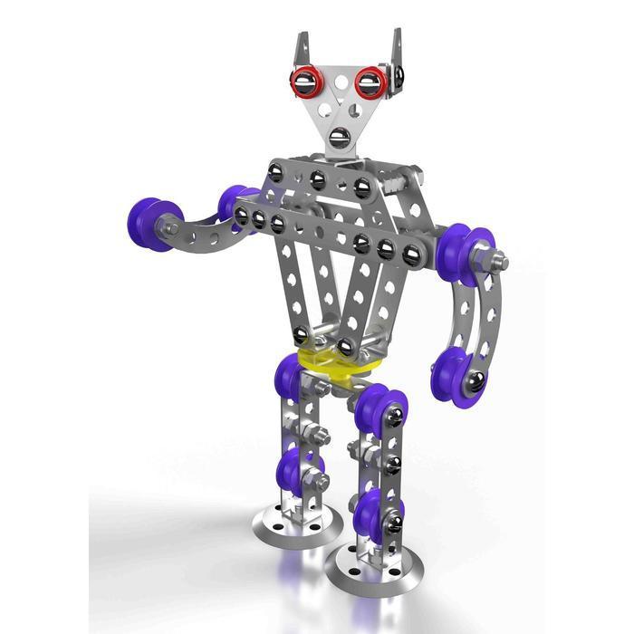 Конструктор металлический «Робот Р1» с подвижными деталями - фото 2