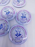 Изготовление значков с логотипом по индивидуальному заказу