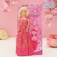 Кукла на подложке с аксессуарами «Настоящей принцессе», МИКС