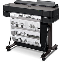 Плоттер, HP 5HB09A, HP DesignJet T630 24-in Printer (A1/610 mm), 4 ink color, фото 1