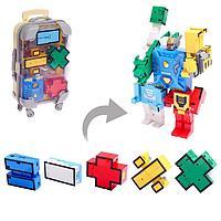 """Игровой набор """"Робоцифры"""", в чемодане знаки, цвета МИКС"""