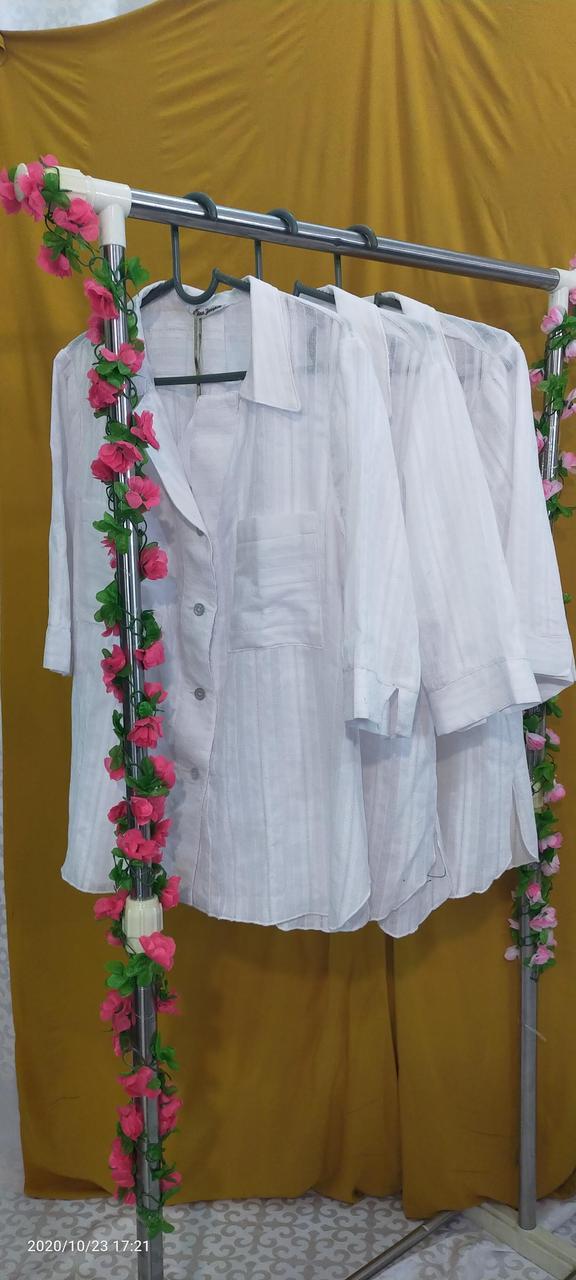 Белая рубашка женская офисная - фото 5