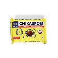 Протеиновый шоколад Chikalab - Chika Sport (Молочный c фундуком), 100 гр