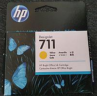 Картридж струйный HP CZ132A №711 Yellow для плоттеров Designjet T120/T520, фото 1