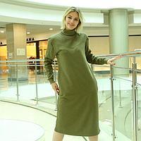 Платье женское, цвет хаки, размер 42