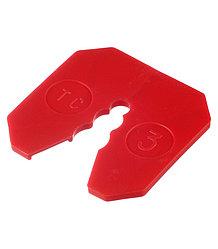 Компенсатор для цокольного профиля пластиковый, 3мм