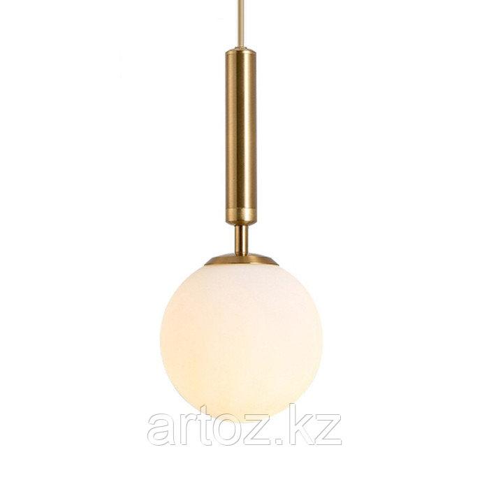 Светильник подвесной Milky glas Transparant-M (Gold)