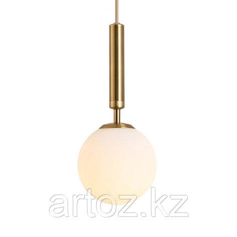 Светильник подвесной Milky glas Transparant-M (Gold), фото 2