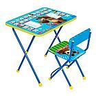 Набор мебели НИКА МАША и МЕДВЕДЬ (стол+мягкий стул) Азбука 2