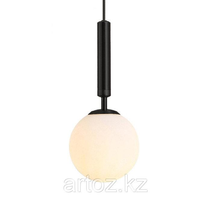 Светильник подвесной Milky glas Transparant-M (Black)