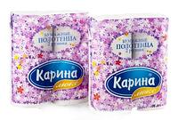 Бумажные полотенца «Карина» 22 см